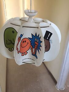 Mr men retro light shade kids room Fulham West Torrens Area Preview