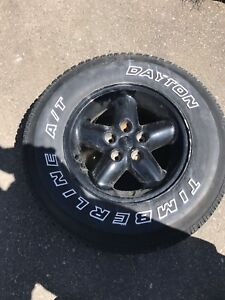 Jeep Tire's and rims