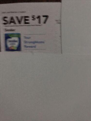 Similac Coupon 17 Coupon Expire 1/1/21 - $7.99