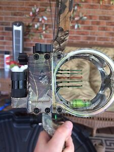 Trophy ridge 5 pin bow sight