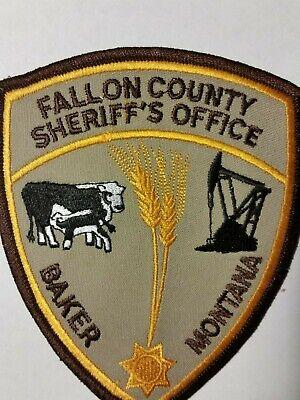 FALLON COUNTY -BAKER MONTANA SHERIFF PATCH