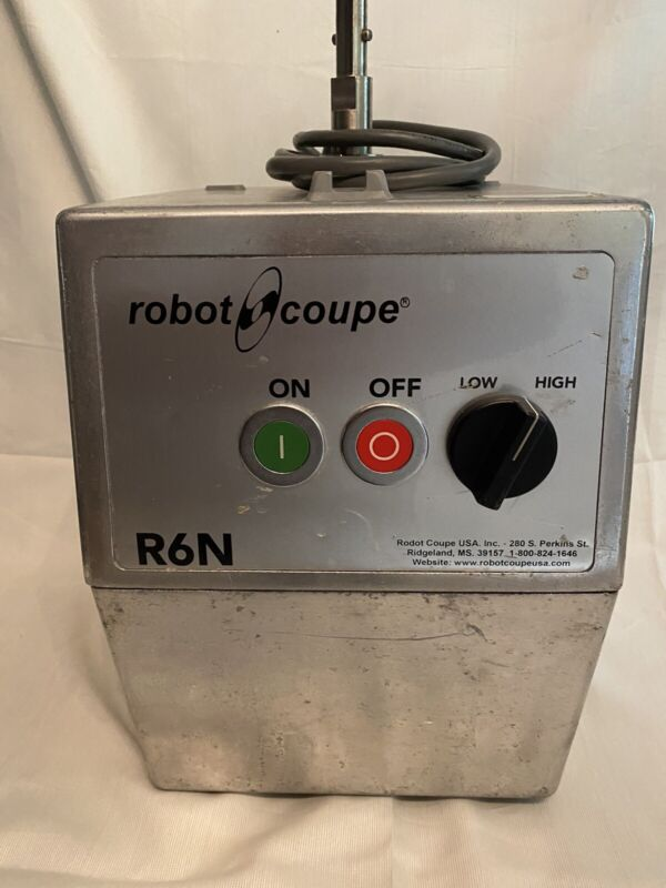 Robot Coupe R6N With 3 Blades Power 220v 3ph