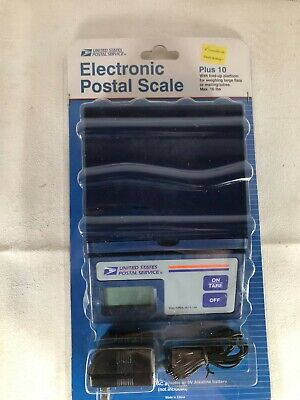 New Usps Plus 10 Postal Scale Electronic Digital Wfold-up Platform 10 Lbs.