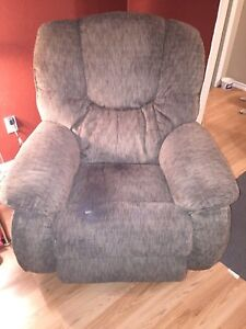 Lazy boy couch and seat
