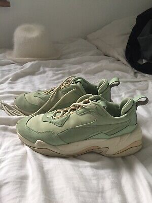 Puma Thunder Desert (mint green) Shoes Size 5