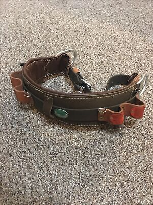 Buckingham Linemans Safety Climbers Tree Climbing Belt Size 26