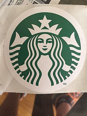 "Starbucks Stickers 3"" - Lot Of 6"