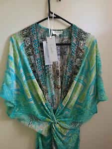 CAMILLA FRANKS maxi silk dress topkapi exc cond sz 2 $899 Docklands Melbourne City Preview