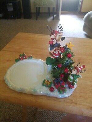 Yankee Candle REINDEER TREE 2011 Jar Holder 1236705 Christmas holiday