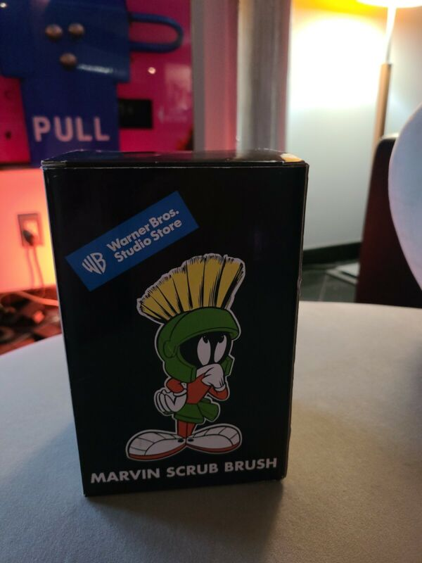 Looney Tunes Marvin Martian Scrub Brush by Warner Brothers Studio Store