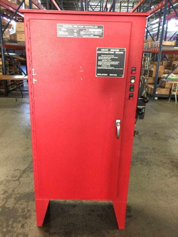 Metron Fire Pump Controller M300-75-230C