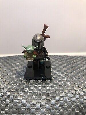 Custom Minifigure Star Wars Mandalorian Baby Yoda The Child ARRIVES IN 2-4 DAYS