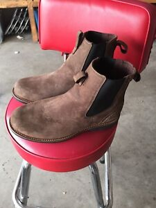 Brand new leather boots size 10