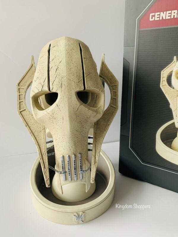Disney Star Wars Galaxy's Edge General Grievous Mask Statue Dok Ondars IN HAND