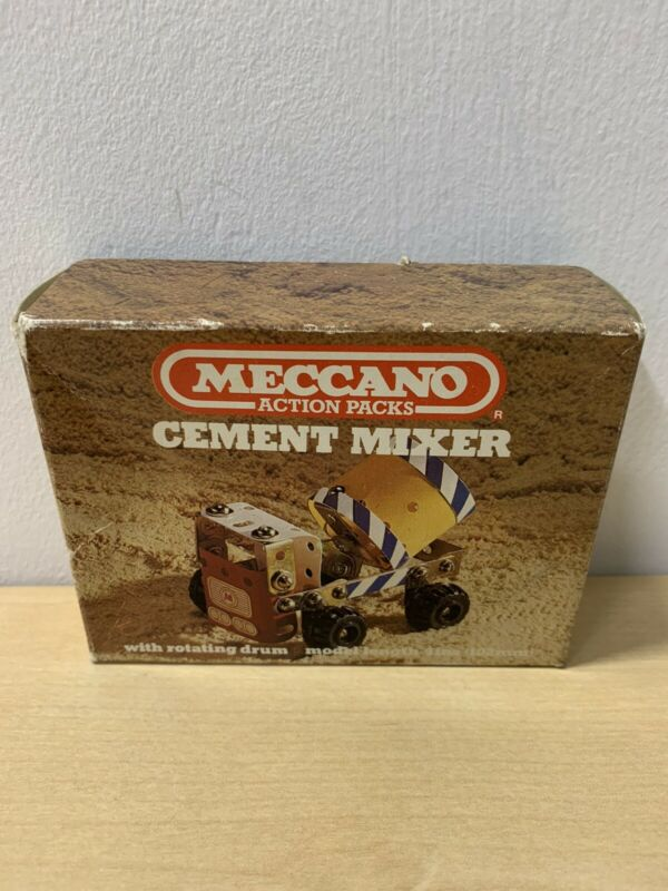 Vintage+Meccano+Action+Packs+Cement+Mixer+Sealed