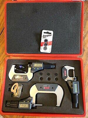 Spi 3 Piece Micrometer Set Ip54