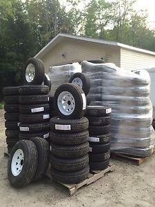 TONS OF NEW Trailer Tires & Rims