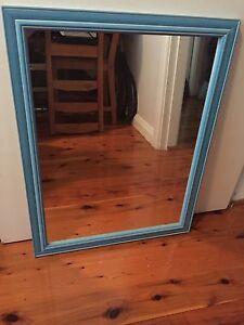 Mirror with Blue Frame 52x67cm Auburn Auburn Area Preview