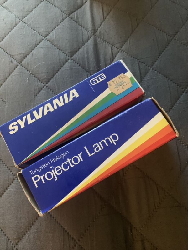 Lot of 2 Sylvania DYH 600W 120V Projector Projection Lamps - In Box - NOS