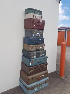 Vintage Suitcase Collection Chermside Brisbane North East Preview