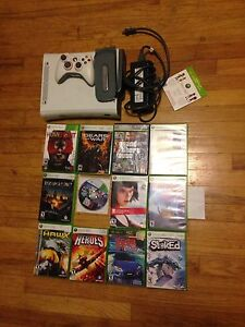 Xbox 360 w/ games and all hookups