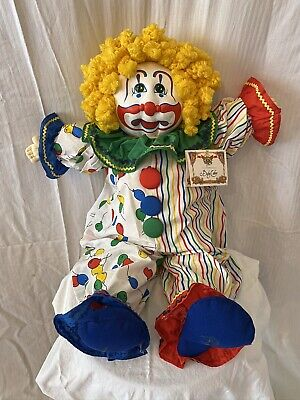 1987 Little People Soft Sculpture Cabbage Patch Xavier Roberts Clown Baby Cakes