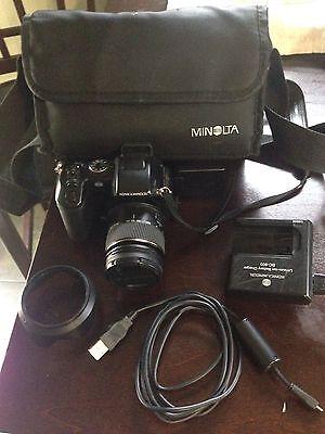 Konica Minolta DiMAGE A200 8.0 MP Digital Camera - Black