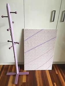 Hat stand and pin board Oatley Hurstville Area Preview