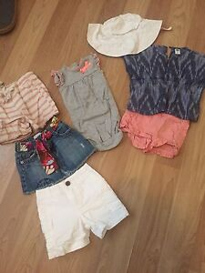 Baby Girl Summer Clothes- size 12 months
