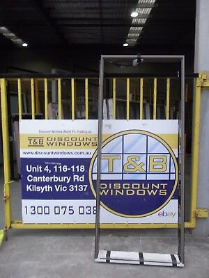 Aluminium Door Entry 2100H x 1860W (Item 3202) Jasper