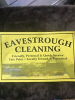 Eavesthrough cleaning