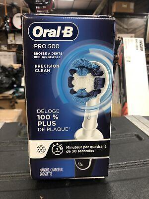 فرشاة أسنان أورال-بي براون برو 500 ثنائية الأبعاد قابلة لإعادة الشحن نظيفة - NT 2