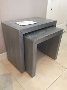 Brand new pair of nesting tables