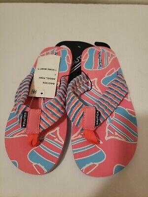 Nautica  Girls Printed Flip-Flops size 1