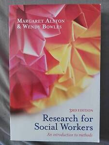 Research for Social Workers 3rd ed. Alston & Bowles Swan Hill Swan Hill Area Preview