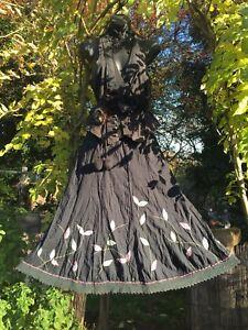 QUIRKY Bustle Hitch Gothic Steampunk Lagenlook Victorian Gypsy Pirate Folk M/L
