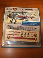 Vintage / Retro Airfix Model Kit, Gladiator Mk 1, 1/72 Scale, Still Sealed. - airfix - ebay.co.uk