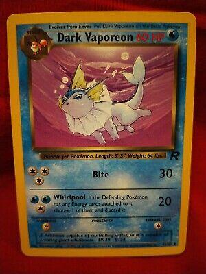 Vaporeon Dark Charmeleon U Choose Jolteon Pokemon Team Rocket Uncommon Cards