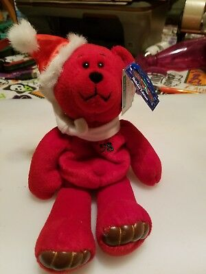1998 limited treasures holiday edition bear