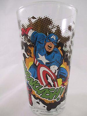 Captain America  & Hulk (Avengers) New 16 oz Pint Glass by - Captain America Glasses