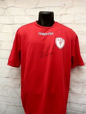 Maillot AS CANNES ASC signed signé JAN KOLLER foot ultras image