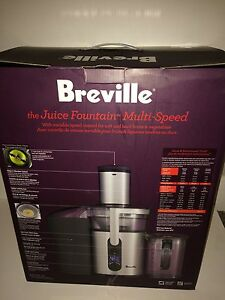 Breville juicer Fountain Multi-Speed used once