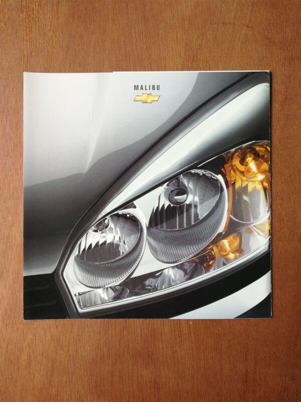 2003 Chevy Malibu Brochure - Chevrolet