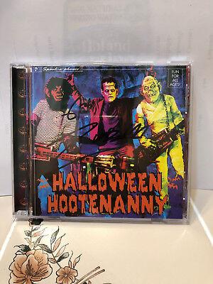 ROB ZOMBIE HALLOWEEN HOOTENANNY (CD) Signed  1998 - Rob Zombie Halloween Music