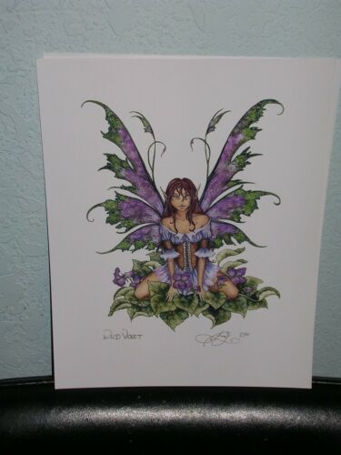 Amy Brown - Wild Violet - OUT OF PRINT