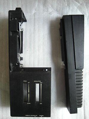 YAMAHA DX7 2nd DX7S 2 FD Black édition lower  PARTS Plastic LEFT PANEL