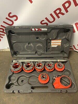 Ridgid 12-r 12-2 Die Head Hand Ratcheting Threader Set W Case 12r 300 700