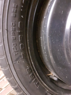 Ve vf spare tyre 155 70 18 commodore Speers Point Lake Macquarie Area Preview