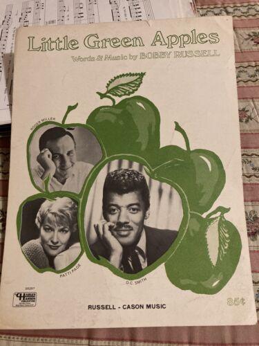 Little Green Apples. Sheet Music Piano/Vocal/Guitar - $3.00