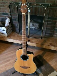 Acoustic electric 4 string bass